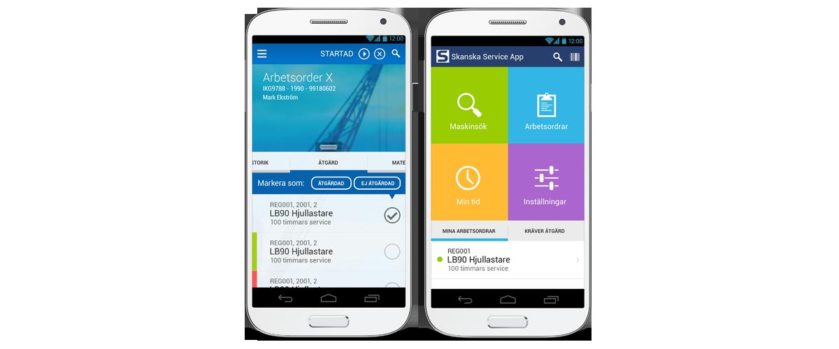 Skanska-Service-App