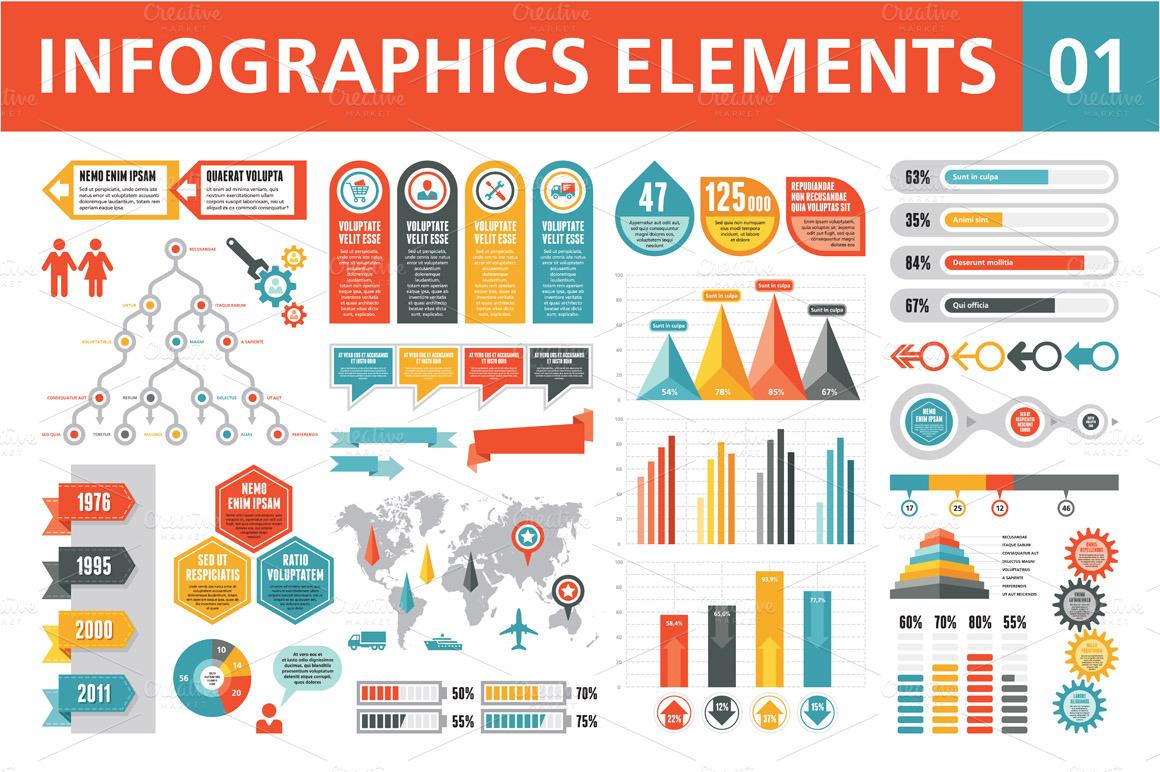 Infographic powerpoint template toneelgroepblik Images