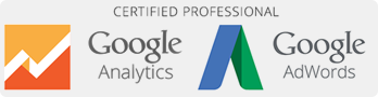 Google Analytics & AdWords certifierad