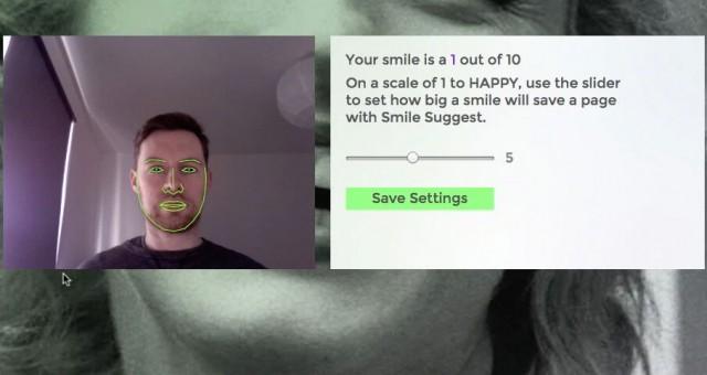 Smile Suggest – Sparar sidor som får dig att le