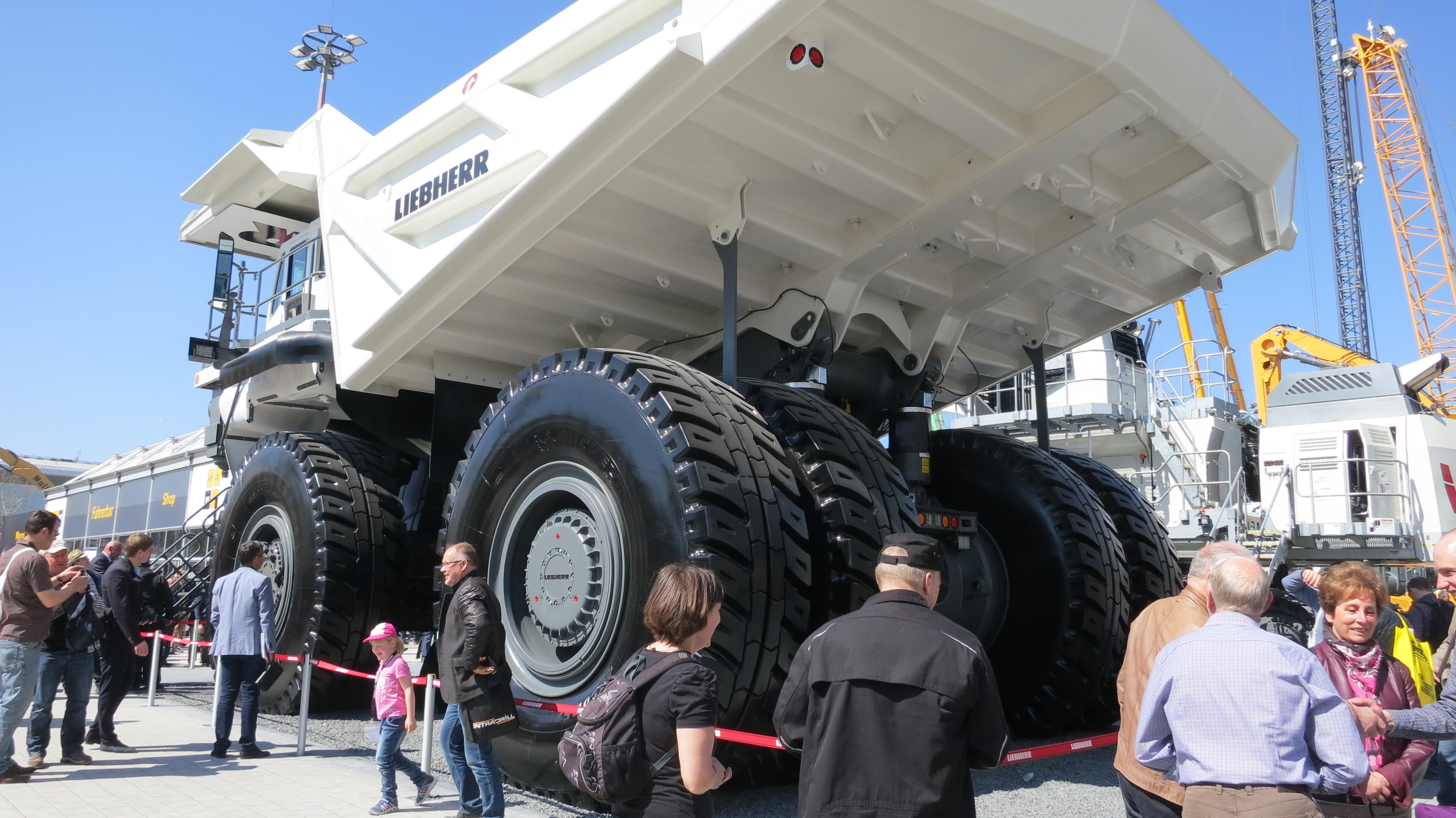 Liebherr truck
