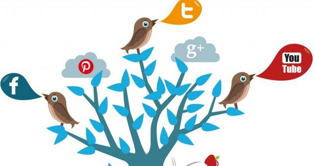 Säg hej till Skapa i sociala medier