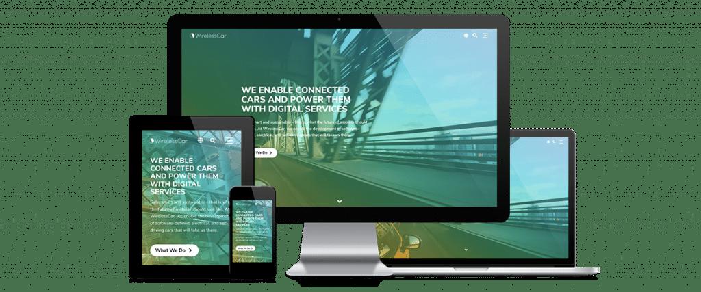 WirelessCar webbplats
