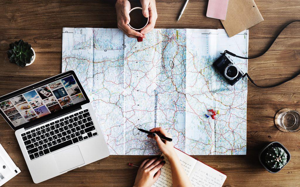 Planera resa rutt och mål